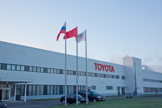 Правительство Петербурга снизило стоимость земли под заводом Toyota